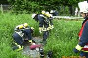 01.06.2010 - Übungsabend: Bewusstlose Person im Schacht