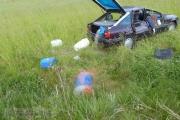 03.06.2014 - Übungsabend: Verkehrsunfall mehrere Personen eingeklemmt, Gefahrstoffe laufen aus
