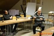 11.02.2014 - Übungsabend: Unterricht durch die Polizei Westhessen Abteilung Brandursachenermittlung