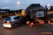 11.10.2016 - Verkehrsunfall mit Gefahrgut