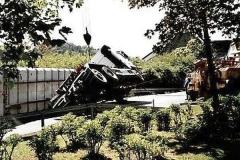 13.05.2003 - LKW kippt in Kurve um