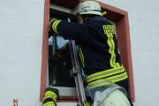 22.04.2014 - Übungsabend: Vermisste Person mit Rauchentwicklung im Gebäude