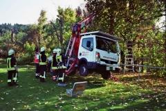 22.10.2008 - Hubsteiger droht umzustürzen