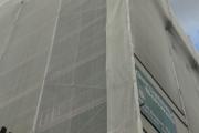 05.05.2015 - Übungsabend Retten einer Person über Baugerüst