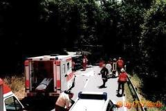 10.07.2001 - Motorrad gegen Bus geprallt, 2 Tote