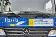 22.05.2020 - Hassia spendet 40 Kästen Mineralwasser