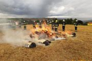 22.08.2021 - Gemeinsame Übung Wald und Flächenbrände