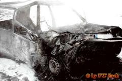 29.12.2001 - Fahrzeug fing Feuer