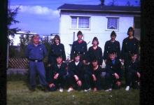 3. Platz beim Kreiswettkampf 1974