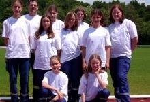 Kreiswettkampf 2004 Mädchenmannschaft